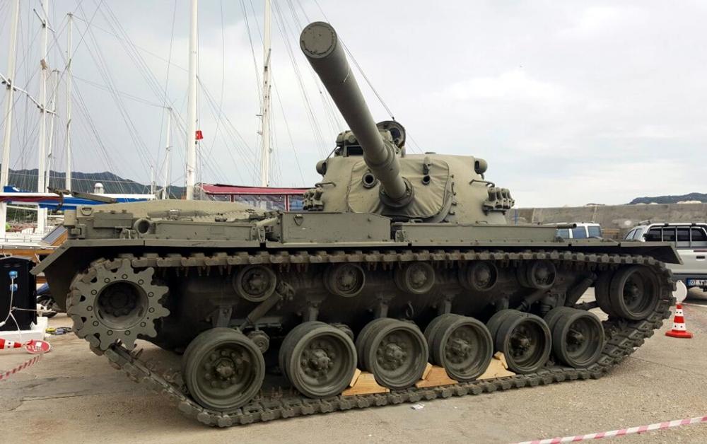 Akdeniz'in Derinliklerinde 45 Tonluk Tank