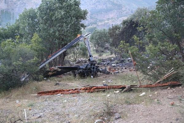 Helikopter Kazasında Görgü Tanıklarından Şok Anlatımlar