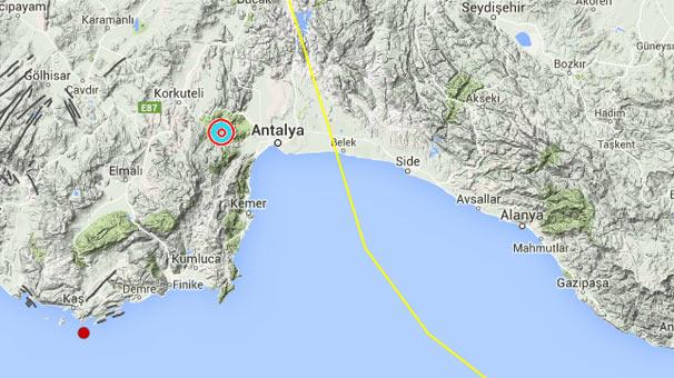Antalya'da Tsunami Uyarısı