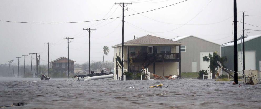Harvey Kasırgası ABD'yi sarstı