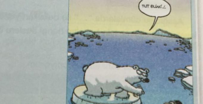 Okul Kitabındaki Karikatüre Büyük Tepki
