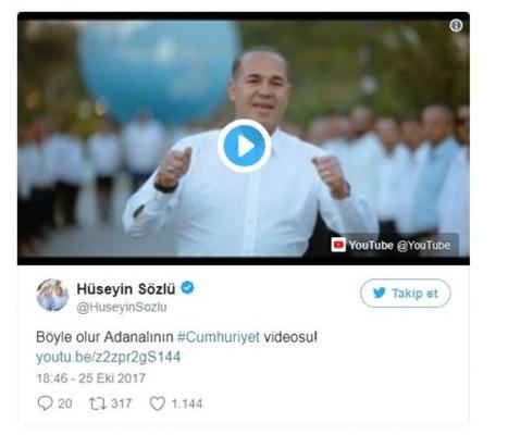 Adana'da Cumhuriyet Coşkusu