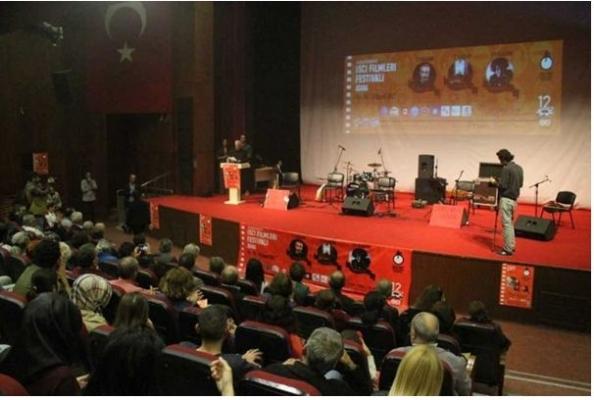12. Uluslararası İşçi Filmleri Festivali Başladı