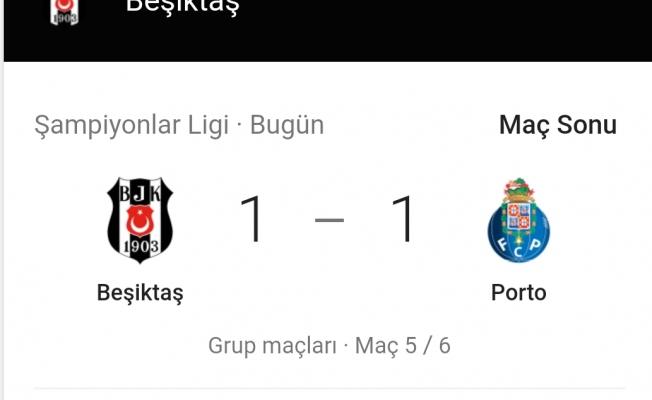 Beşiktaş'in Devler Ligi Zaferi