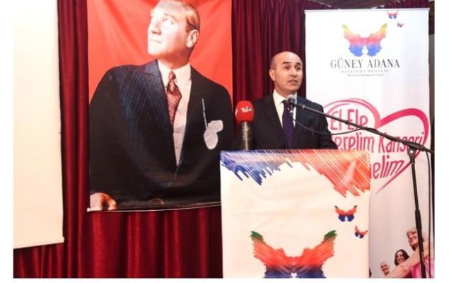 """Güney Adana Kalkınma Projesi'nde """"Kanseri Yenelim"""" Etkinliği"""