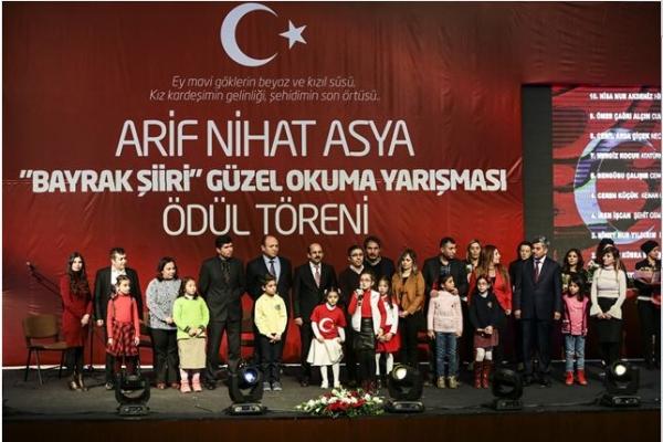 Arif Asya Bayrak Şiiri Okuma Yarışması