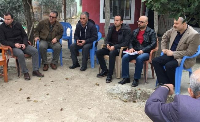 Karataş Bebeli Mahallelisi, Seracılık Organize Sanayi Bölgesi Projesini dinledi