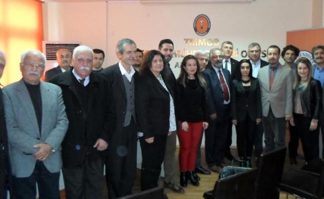 """JMO'da Mehmet Tatar Güven Tazeledi  Yüksel Metin """"Mücadele sürecek"""""""