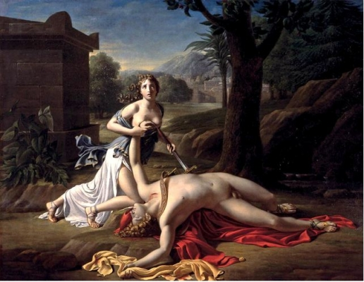 Adanalı Thisbe ve Pyramus'un Efsanesi Aşkı