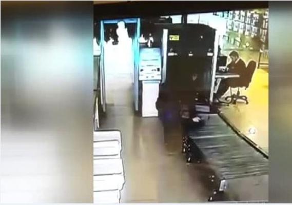 Kokain Kuryesi Havalimanı'nda Yakalandı