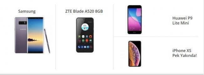 2018 Akıllı Telefon Fiyatları