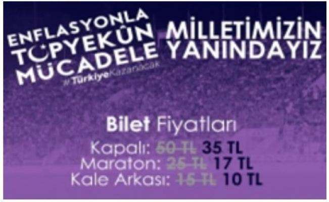 Adana Demirspor'dan Ekonomiye Tam Destek