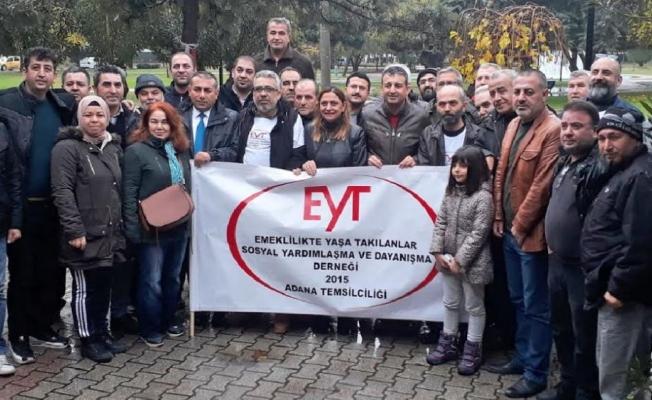 Emeklilikte Yaşa Takılanlar Adana'da bir araya gelecek