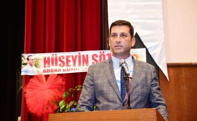 Belediye İş Sendikası Adana Şube Başkanı Sancar Manga
