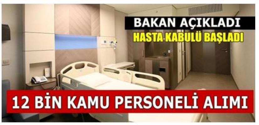 Bilkent Şehir Hastanesine 12 Bin Personel Alımı