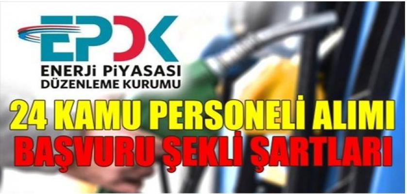EPDK 24 Kamu Personeli Alımları Başlıyor