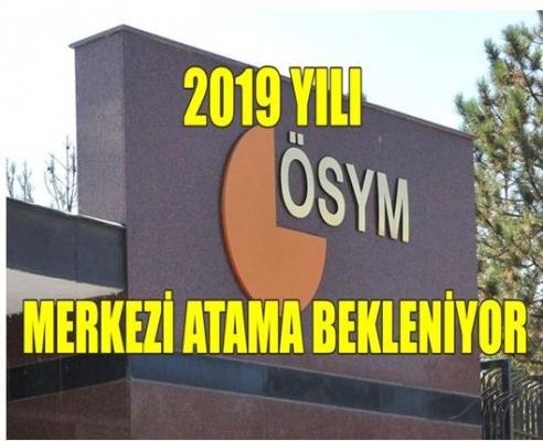 Gözler ÖSYM'nin Açıklayacağı KPSS 2019 Yılı Atama Takviminde