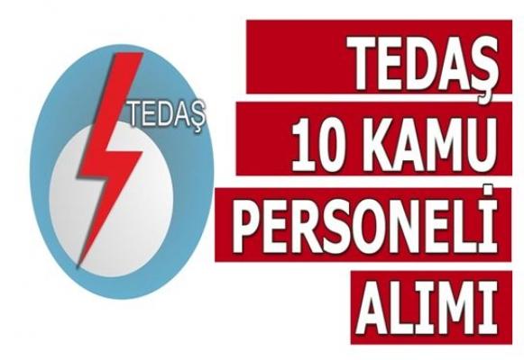 TEDAŞ Yüksek Maaş İle 10 Personel Alımı Yapıyor
