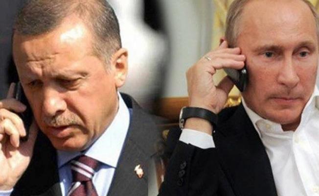 Cumhurbaşkanı Erdoğan Putin İle Telefonda Konuştu