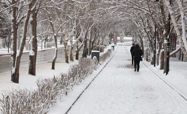 Doğu Anadolu'da Kar Yağışı Kuvvetli Olacak