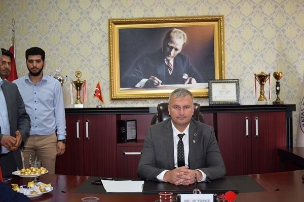 Karataş Belediye Başkanı Necip Topuz Mazbatasını Aldı