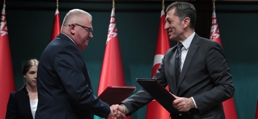 Türkiye İle Belarus Arasında Eğitim İş Birliği Anlaşması İmzalandı
