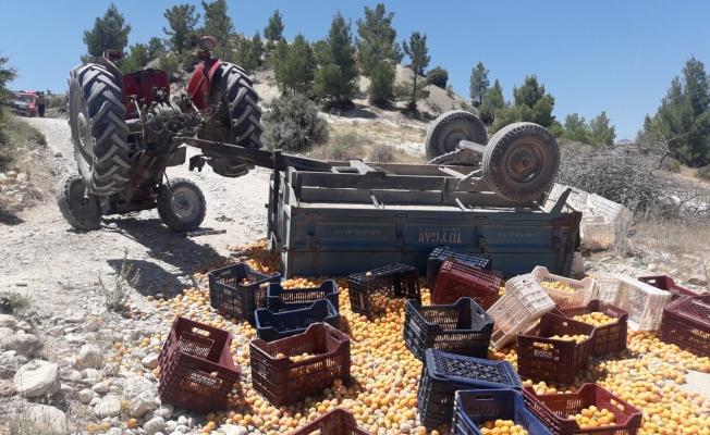 Mersin'de traktör Kazası: 1 ölü, 9 yaralı