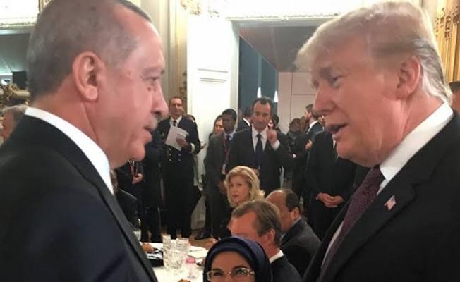 Başkan Erdoğan Trump İle Görüştü