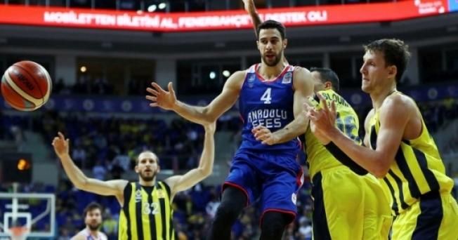 Müthiş Seride Şampiyon Anadolu Efes