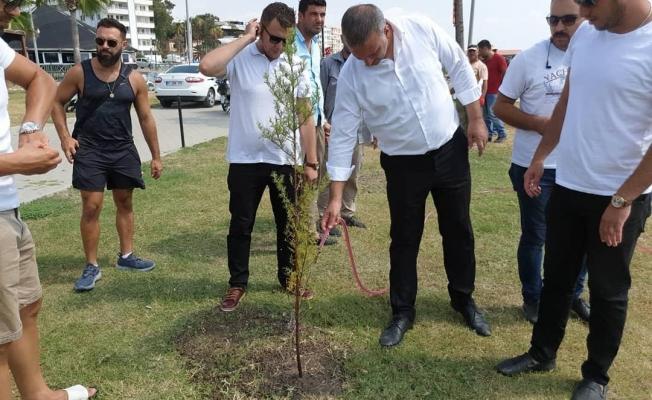 30 Ağustos Zaferinin 97 Yılında Karataş Belediyesinden 97 Fidan