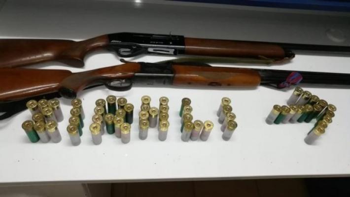 Adana'da 56 Silah, 395 Mermi Ele Geçirildi