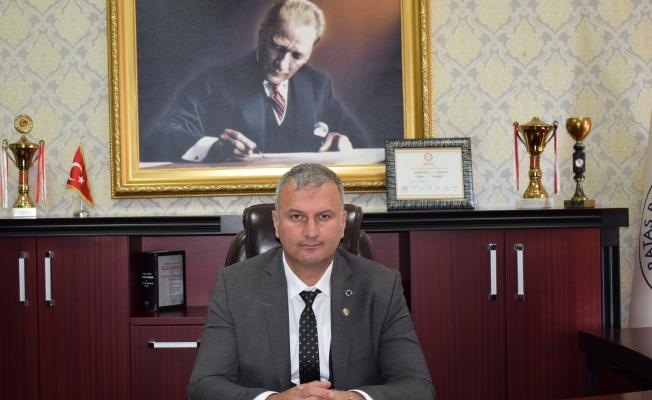Karataş Belediye Başkanı Necip Topuz Yeni yıl kutlama mesajı