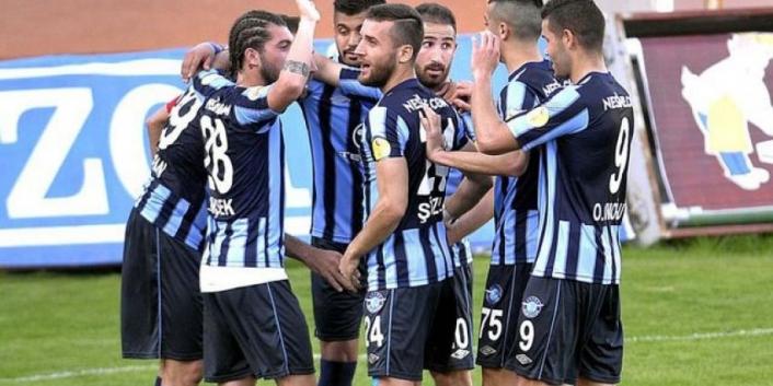 Adana Demirspor Süper Lige Yürüyor