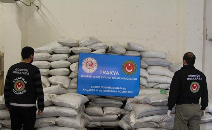 Kapıkule'de Yakalanan Uyuşturucu Ülke Tarihinde Bir Rekor Kırdı
