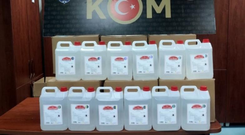 Adana'da 200 Litre Kaçak Etil Alkol Ele Geçirildi