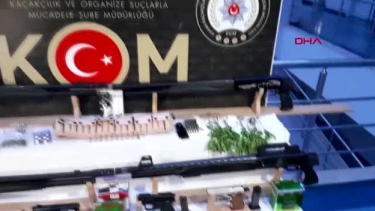Adana'da Silah Kaçakçılarına Operasyon: 10 Gözaltı