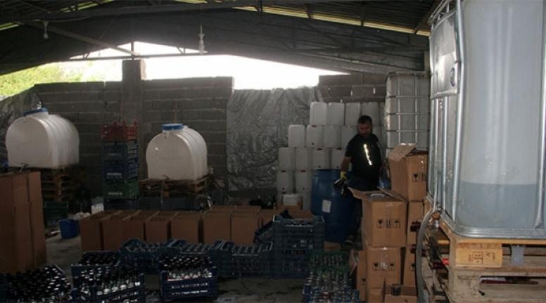 Adana'da Kaçak İçkiye Geçit Yok