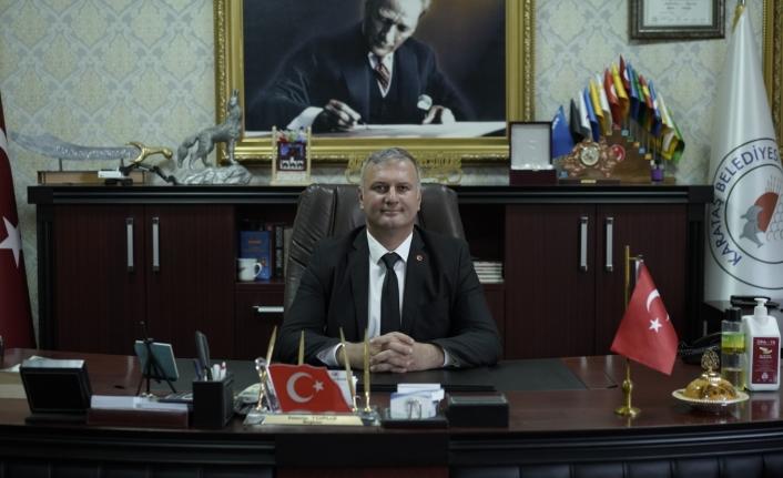 Karataş Belediye Başkanı Necip Topuz 30 Ağustos Zafer Bayramı mesajı