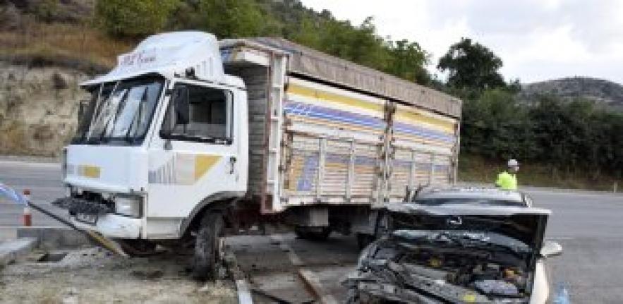 Adana'da Meydana Gelen Kazada Feci Can Kaybı