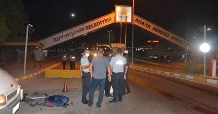 Adana'da Otogarında Bomba Paniği