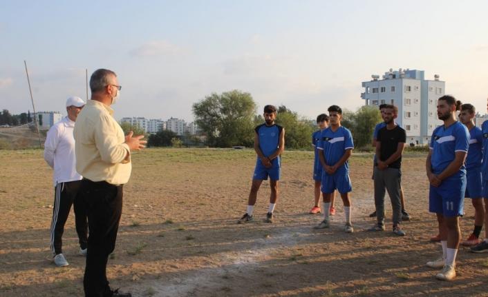 Başkan Topuz'dan Spor Kulübüne Destek