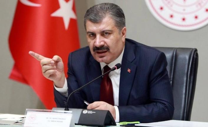 Sağlık bakanı Fahrettin Koca UYARIYOR