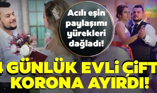 Adana'da Yeni Gelin Koronadan Hayatını Kaybetti