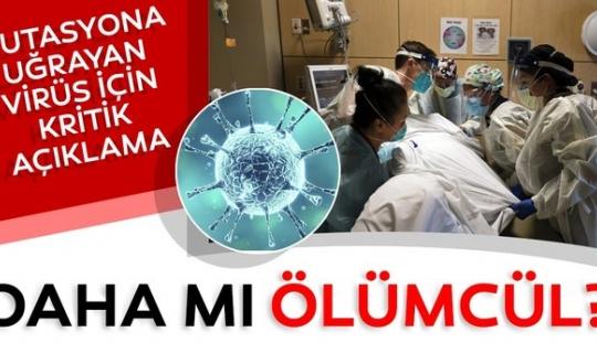 Corona Virüs Mutasyonu Korkutuyor