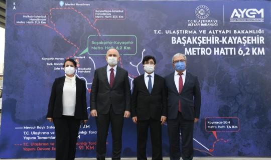 Başakşehir Çam ve Sakura Hastanesi Kayaşehir Metro Hattı Şantiyesi
