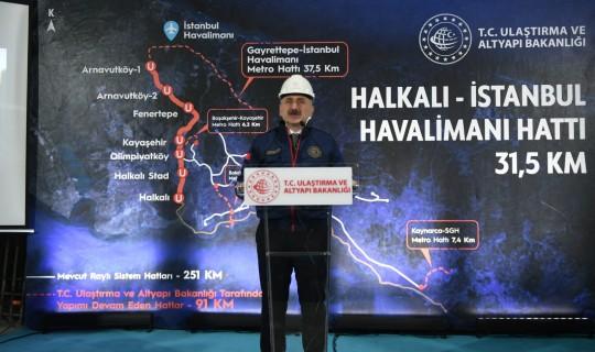 İSTANBUL'A İKİ RAYLI SİSTEM HATTI DAHA KAZANDIRIYORUZ