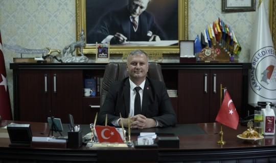 Karataş Belediye Başkanı Necip Topuz Çanakkale Zaferi'nin 106. yıl dönümü anma mesajı