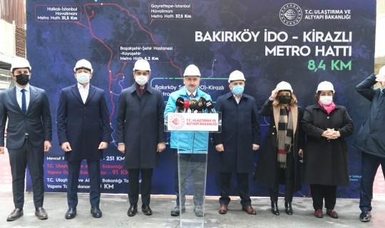 Bakırköy-Bahçelievler-Kirazlı Metro Hattı