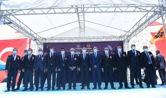 Mardin-Midyat Yolu Temel Atma Töreni