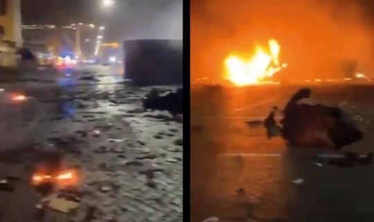 Dubai'de Çok Büyük Patlama Oldu!...